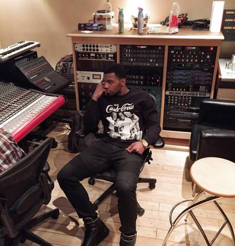 Mcfly in studio