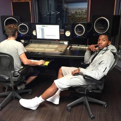 Frank Mcfly in Studio