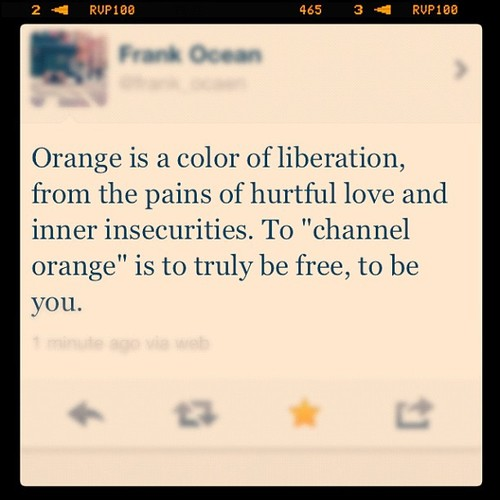 channel your orange